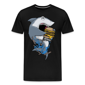 Hungry Shark Premium - Men's Premium T-Shirt