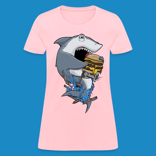 Women's Hungry Shark Shirt