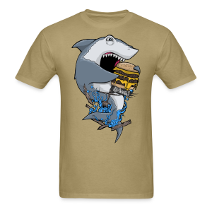 Hungry Shark Shirt - Men's T-Shirt