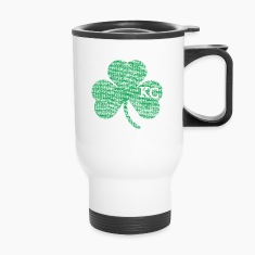 Old Kansas City Irish Shamrock Apparel Bottles & Mugs