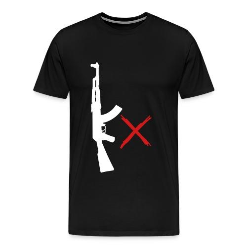 KobraX ''Kx army logo tee'' - Men's Premium T-Shirt