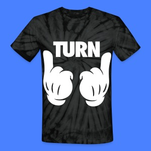 Turn Up Hands T-Shirts - Unisex Tie Dye T-Shirt