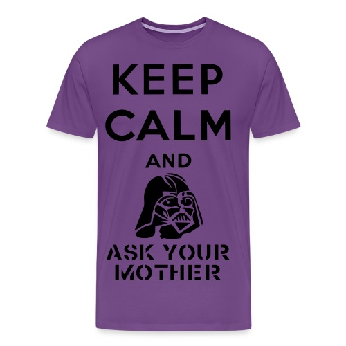 Keep Calm Luke - Men's Premium T-Shirt