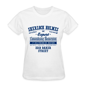 Sherlock Holmes - Consulting Detective - Women's T-Shirt