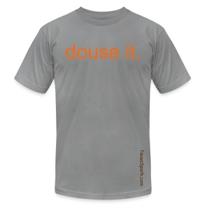 Douse it, M, Slate - Men's Fine Jersey T-Shirt