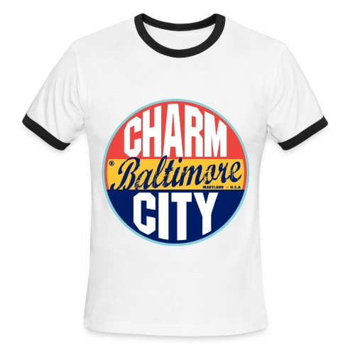 Charm City - Men's Ringer T-Shirt
