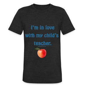 Dad Loves Homeschooling Teacher - Unisex Tri-Blend T-Shirt by American Apparel