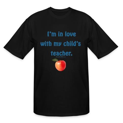 Dad Loves Homeschooling Teacher - Men's Tall T-Shirt