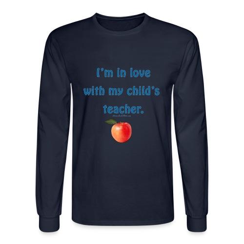 Dad Loves Homeschooling Teacher - Men's Long Sleeve T-Shirt