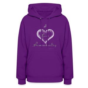 Love Homeschooling Mom - Women's Hoodie