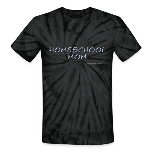 Homeschool Mom - Unisex Tie Dye T-Shirt