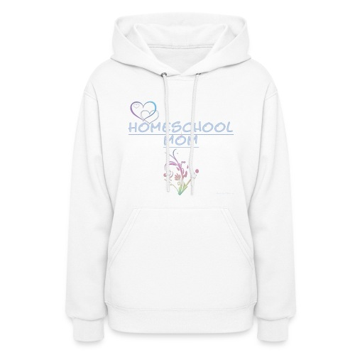 Homeschool Mom Floral - Women's Hoodie