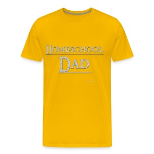 Homeschool Dad - Men's Premium T-Shirt