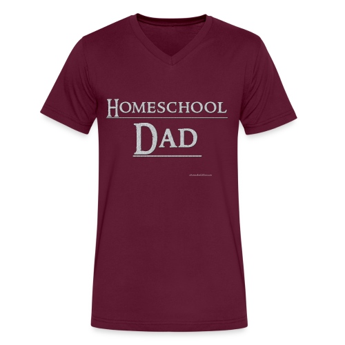 Homeschool Dad - Men's V-Neck T-Shirt by Canvas