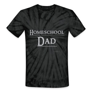 Homeschool Dad - Unisex Tie Dye T-Shirt