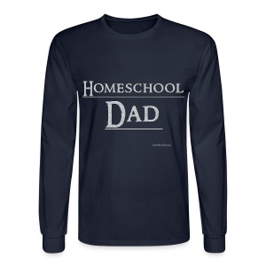 Homeschool Dad - Men's Long Sleeve T-Shirt