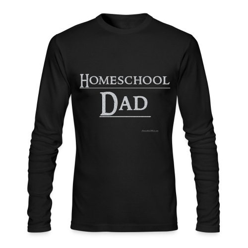 Homeschool Dad - Men's Long Sleeve T-Shirt by Next Level
