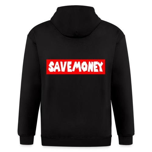 Save Money Clique Hoodie - Men's Zip Hoodie