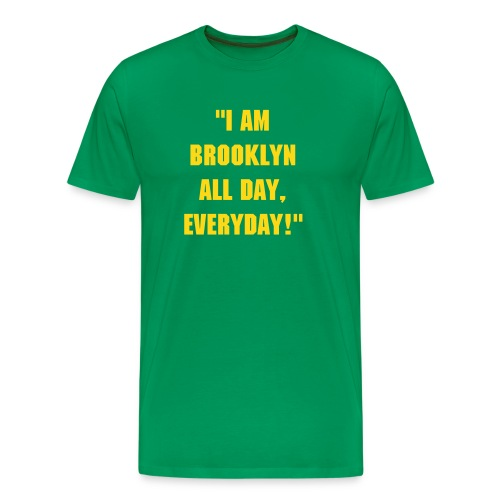 I am Brooklyn (J'ouvert/West Indian Day Parade Edition) - Men's Premium T-Shirt