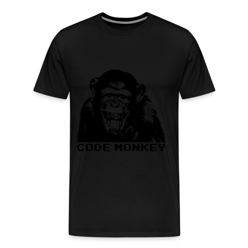 Code monkey t-shirt - Men's Premium T-Shirt