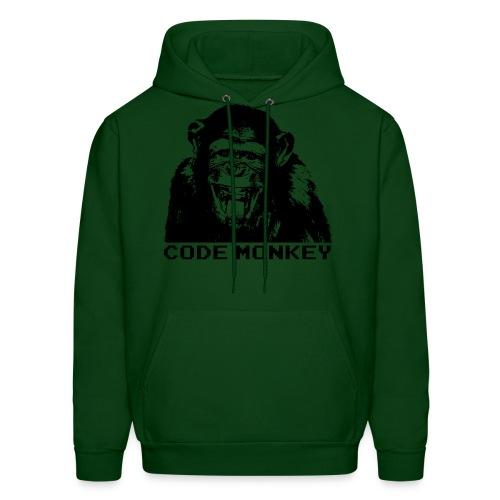 Code monkey - hoodie - Men's Hoodie