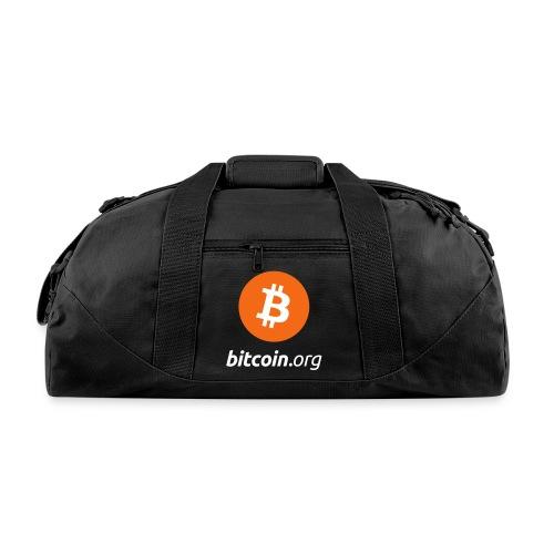 Bitcoin Logo Duffel Bag  - Duffel Bag