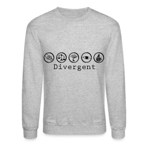 Divergent Factions - Crewneck Sweatshirt