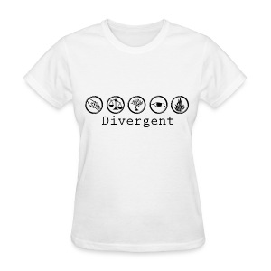 Divergent Factions - Women's T-Shirt