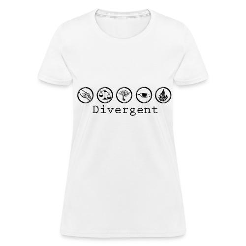 Divergent Factions - Women's T-Shirt