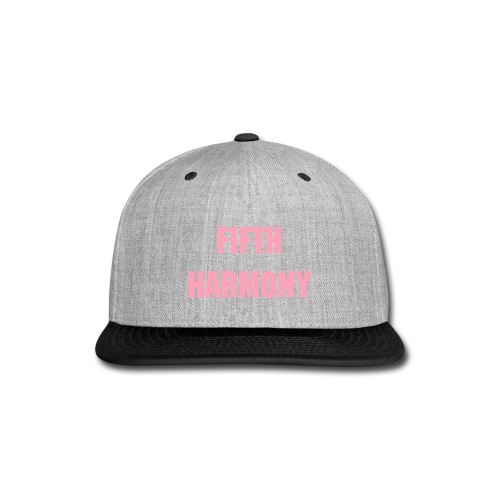 Fifth Harmony Cap - Snap-back Baseball Cap