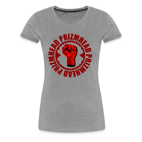 PRIZMHEAD Fist - Women's Premium T-Shirt