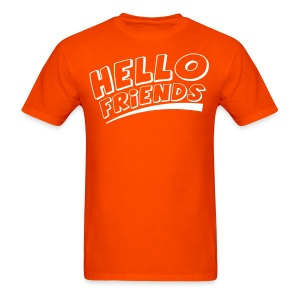 Hello Friends Men's T-Shirt - Men's T-Shirt