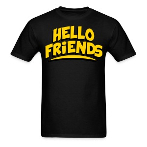 Hello Friends Men's T-Shirt - Men's T-Shirt