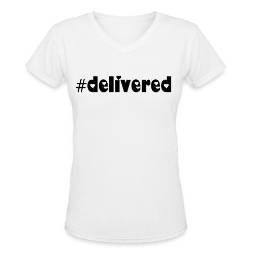 SN&LI! Delivered SunKissedThoughts T~Shirt - Women's V-Neck T-Shirt
