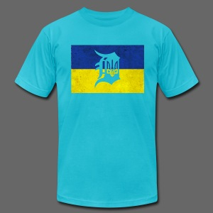 Ukraine D - Men's T-Shirt by American Apparel