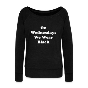 Wednesday - Women's Wideneck Sweatshirt