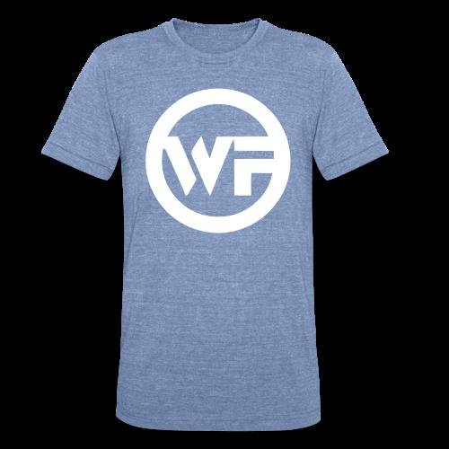 WF Cirlce Logo Vintage -T - Unisex Tri-Blend T-Shirt