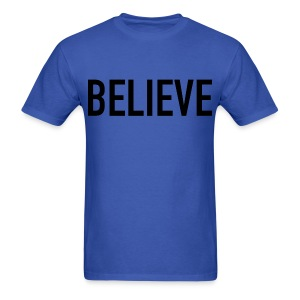 Believe Men's Shirt - Men's T-Shirt