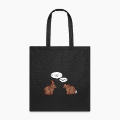 Chocolate Bunnies Bags & backpacks