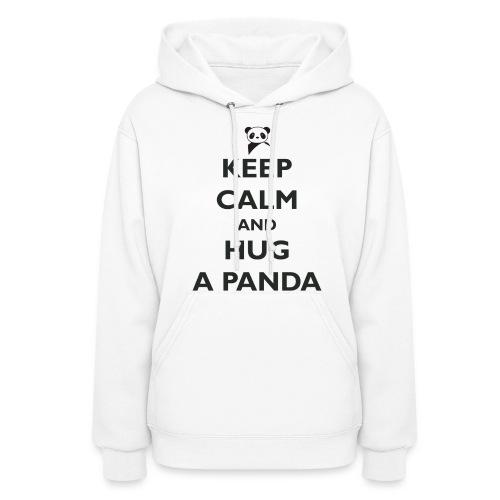 Keep Calm and Hug a Panda - Women's Hoodie