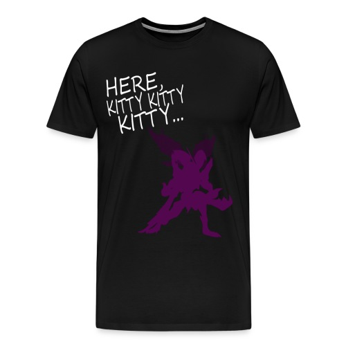 Here Kitty Mens - Men's Premium T-Shirt