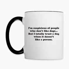 Trust Dogs Bottles & Mugs