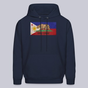 Filipino Republic California Flag - Men's Hoodie