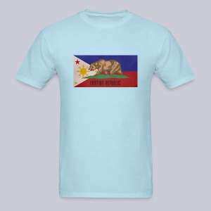 Filipino Republic California Flag - Men's T-Shirt