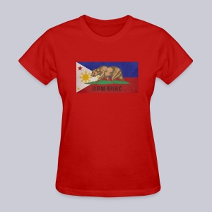Filipino Republic California Flag - Women's T-Shirt