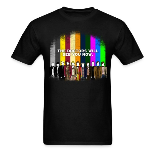 dr who shirt - Men's T-Shirt