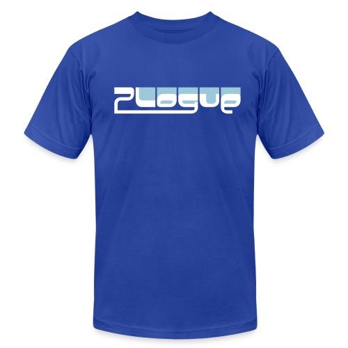 Plogue Logo Tee - Mens (Blue) - Men's Fine Jersey T-Shirt
