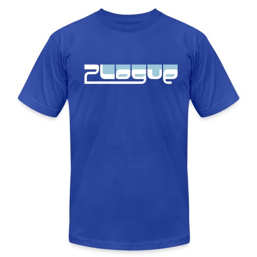Plogue Logo Tee - Mens (Blue) - Men's  Jersey T-Shirt