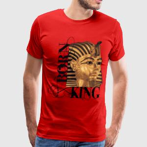 King Tut Born King T-shirt - Men's Premium T-Shirt