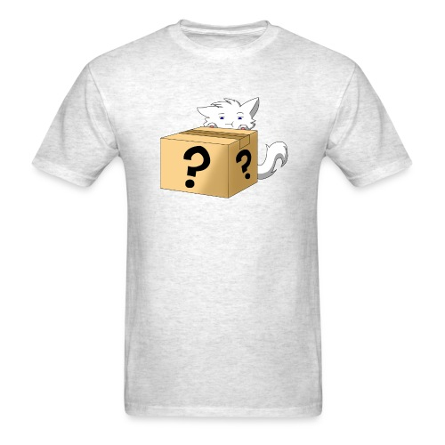 Curious Catbox - Men's T-Shirt